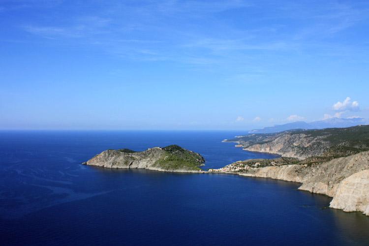 Assos è un delizioso paesino dell\'isola di Cefalonia