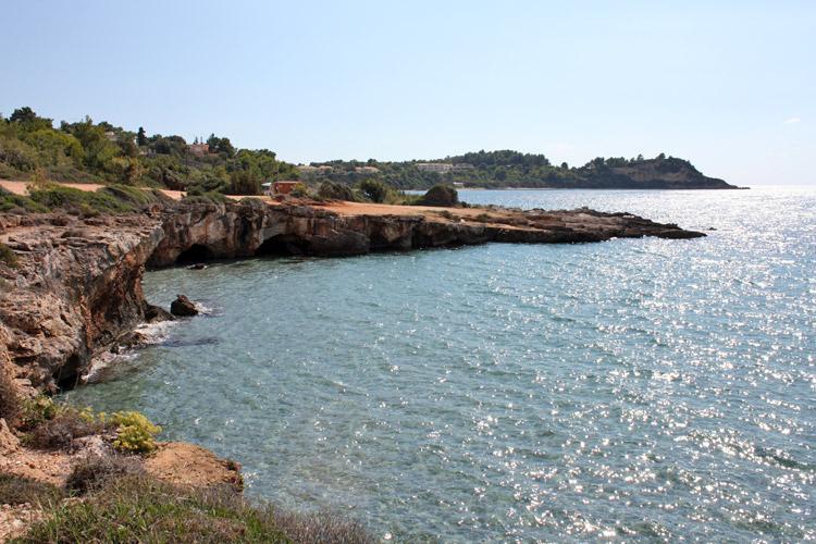 Lassi è un piccolo paese turistico sull\'isola di Cefalonia